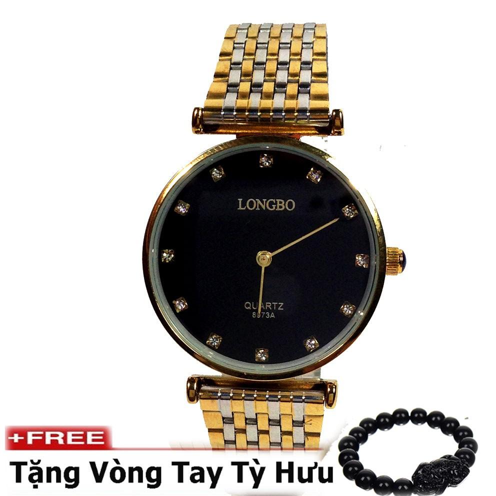 Đồng hồ nam dây thép không gỉ cao cấp LONGBO ( Mặt đen ) - 2580719 , 220176747 , 322_220176747 , 249000 , Dong-ho-nam-day-thep-khong-gi-cao-cap-LONGBO-Mat-den--322_220176747 , shopee.vn , Đồng hồ nam dây thép không gỉ cao cấp LONGBO ( Mặt đen )