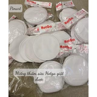 Túi 4 Miếng Lót Thấm Sữa Hotga Bằng Vải Giặt Lại Được Tái Sử Dụng Hàng Việt Nam thumbnail