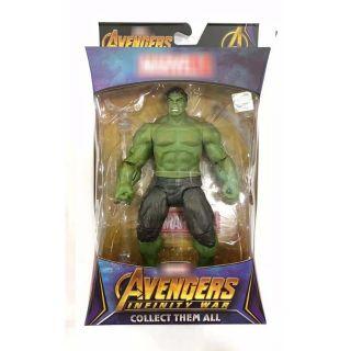 Mô hình Hulk Avengers cao 17cm (có base)