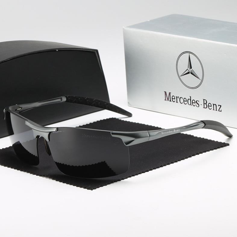 Kính mát nam thể thao cao cấp chống nắng KM102 – Kính mát nam phân cực Mercedes Benz chống chói...