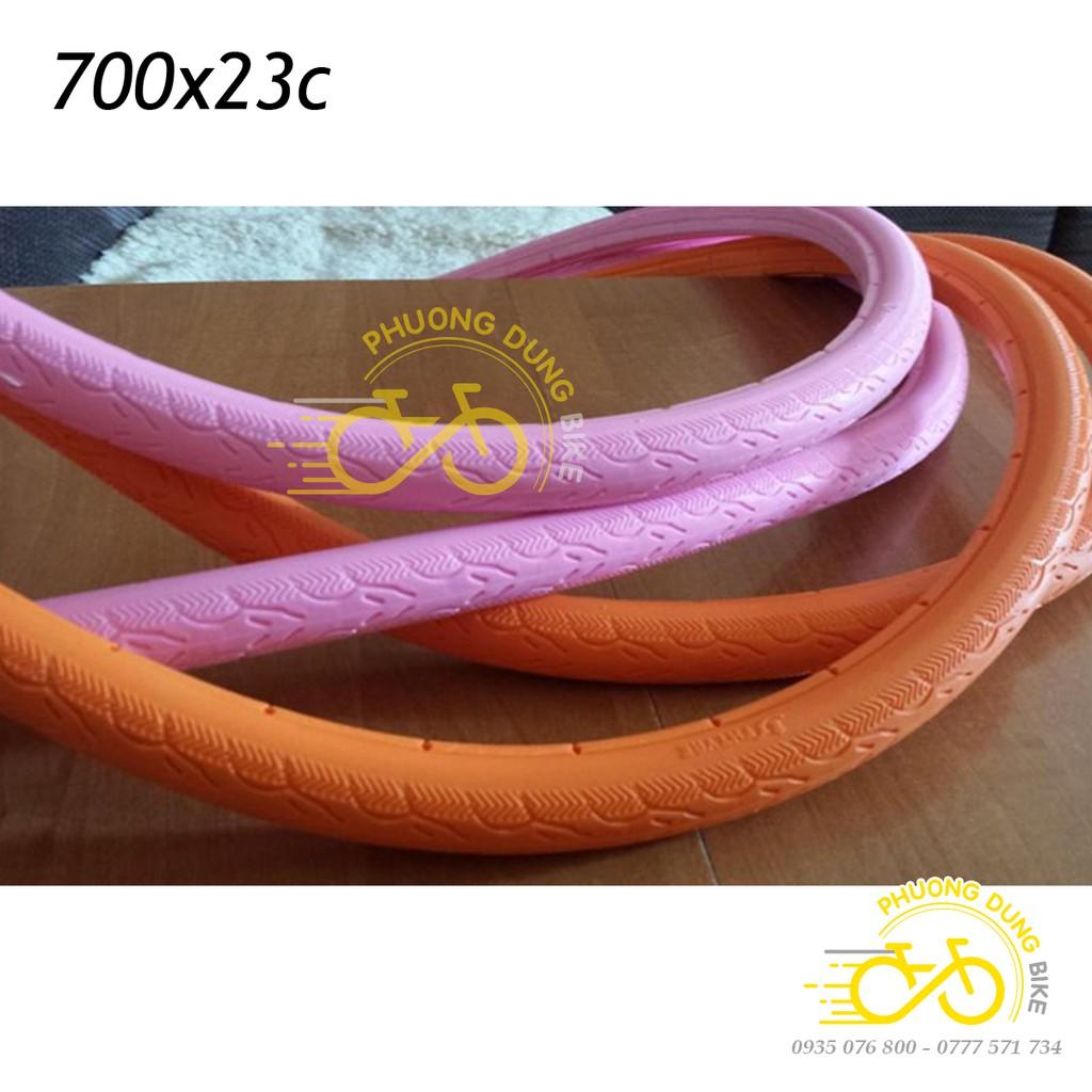 Vỏ lốp đặc không xăm xe đạp 700x23C - 1 chiếc