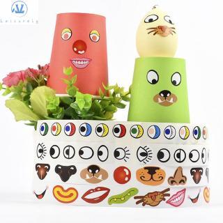 L1 Scrapbook Crafts Materials Birthday Gifts Children Cartoon Animal Stickers