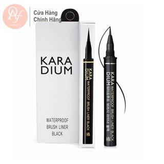 Sỉ kẻ dạ mắt Karadium Waterproof BRUSH LINER BLACK nét mảnh chống trôi chống lem thumbnail