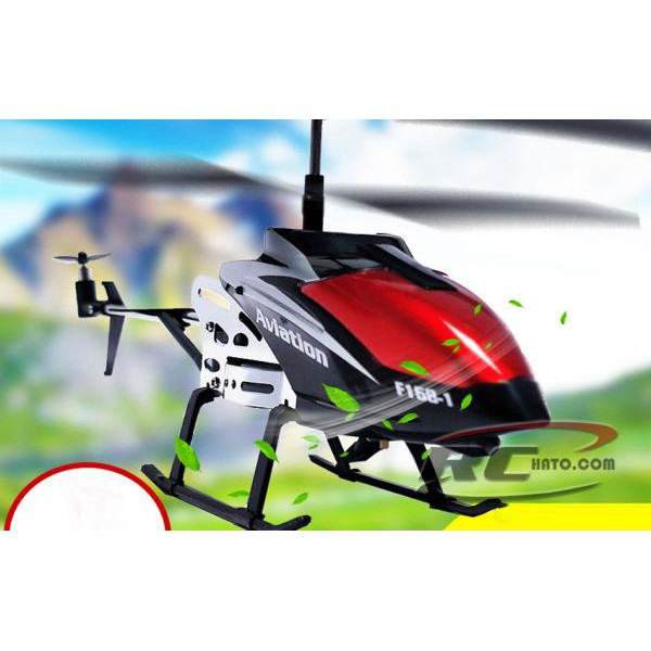 Máy bay điều khiển từ xa trực thăng điều khiển từ xa F186-1 màu ngẫu nhiên