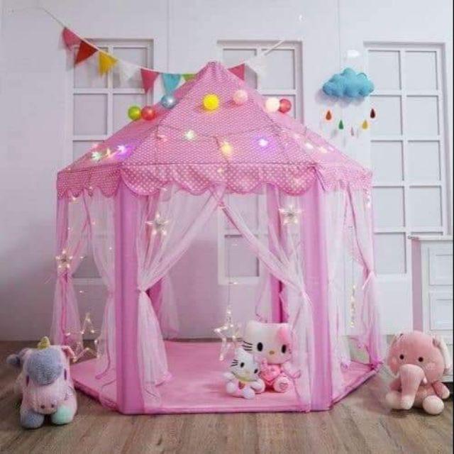 Lều công chúa hoàng tử cho bé gái và bé trai – Trọn bộ sưu tập đồ chơi của trẻ em không thể thiếu đồ chơi nhà bóng này