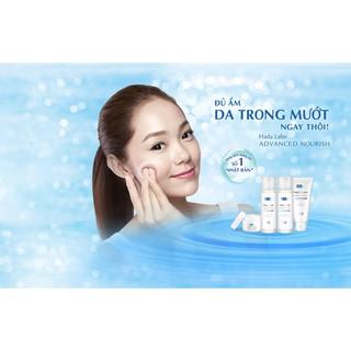 Hình ảnh Kem rửa mặt dưỡng ẩm tối ưu Hada Labo Advanced Nourish Cleanser 80g-4