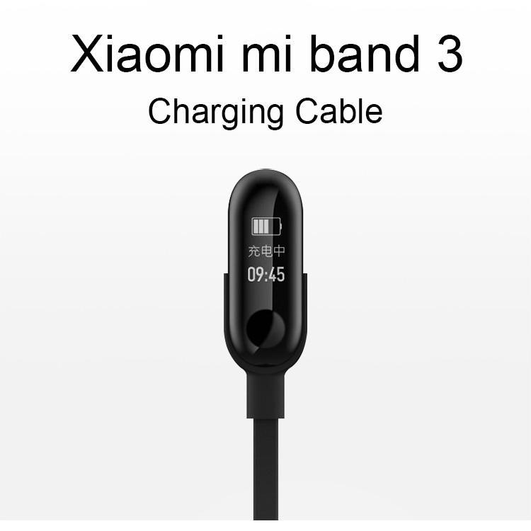 Dây cáp sạc chuyển đổi cổng cắm cho Xiaomi Mi Band 3