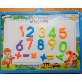Bảng nam châm anto con giỏi toán