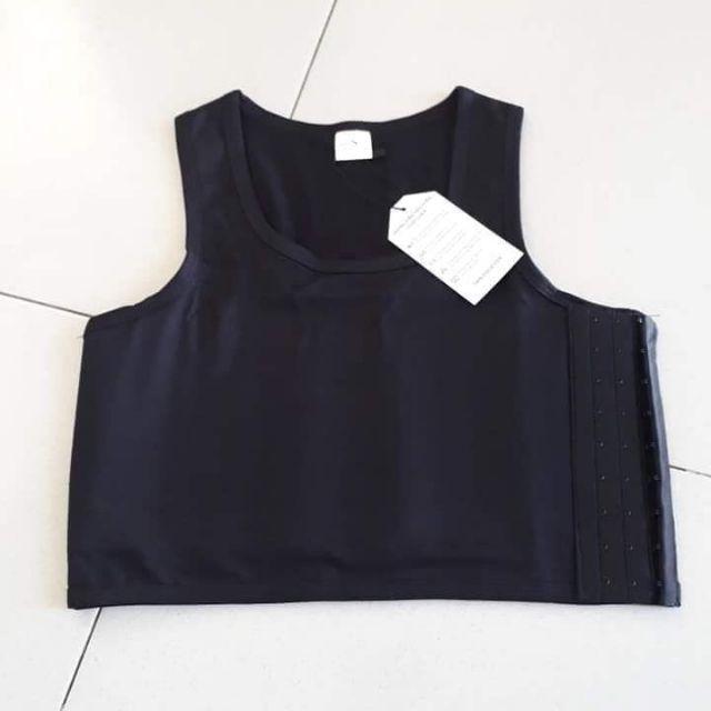 Áo nịt ngực lửng cho tomboy sb