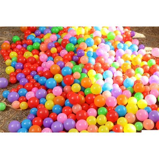 [Sale]-Túi 100 quả bóng nhựa cho bé vui chơi- KHO BÁN SỈ SỐ 1