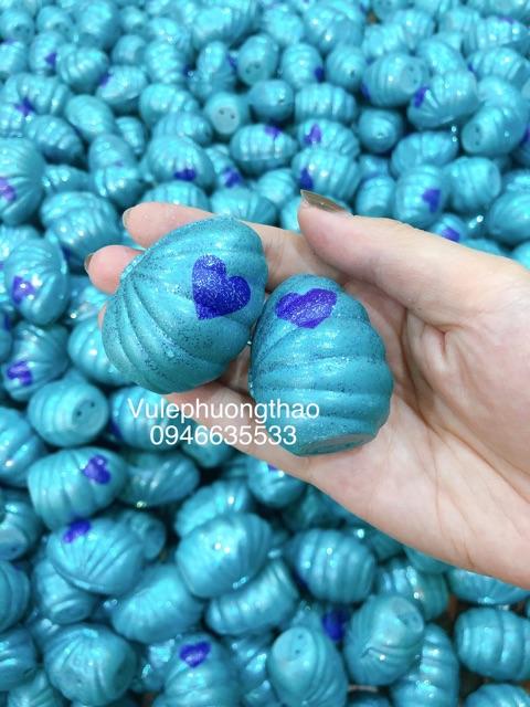 Trứng hatchimal phiên bản sò xanh thú đổi màu