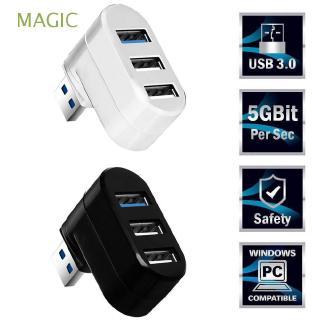 MAGIC Mini Universal Rotatable Data Transfer High Speed USB 3.0 Hub