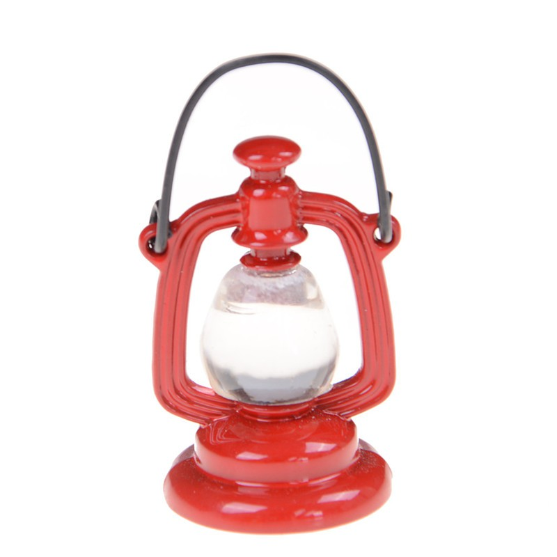 adore 1:6/1:12 Retro Oil Lamp Dollhouse Miniature Toy Doll Home Living Room Decor craving