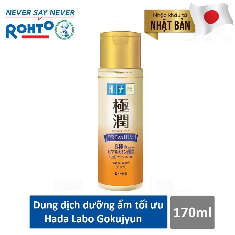 Dung dịch dưỡng ẩm tối ưu Hada Labo Gokujyun Premium Lotion 170ml