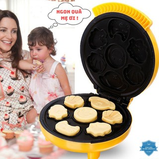 Máy Nướng Bánh, Máy Làm Bánh Hình Thú 7 Khuôn Magic Bullit công suất 1000W nướng bánh dễ dàng thumbnail