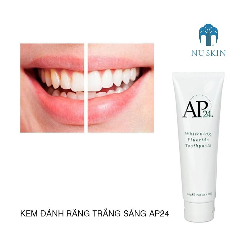 Kem đánh răng trắng sáng Nuskin AP24 Whiteing Flouride Toothpaste - 3537176 , 1141179559 , 322_1141179559 , 200000 , Kem-danh-rang-trang-sang-Nuskin-AP24-Whiteing-Flouride-Toothpaste-322_1141179559 , shopee.vn , Kem đánh răng trắng sáng Nuskin AP24 Whiteing Flouride Toothpaste