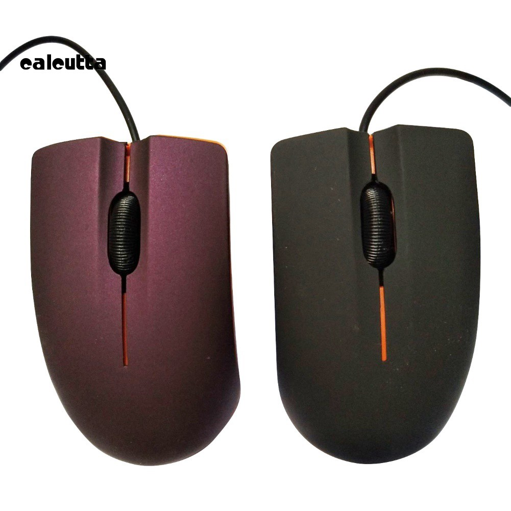 ✡YYW✡Matte Ergonomic 1200DPI 3 Keys USB 2.0 Wired Optical Gaming Mouse for PC Laptop