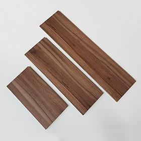 3 Thanh kệ gỗ trang trí nhà cửa 40cm,50cm,60cm x sâu 15cm  (nhiều màu )