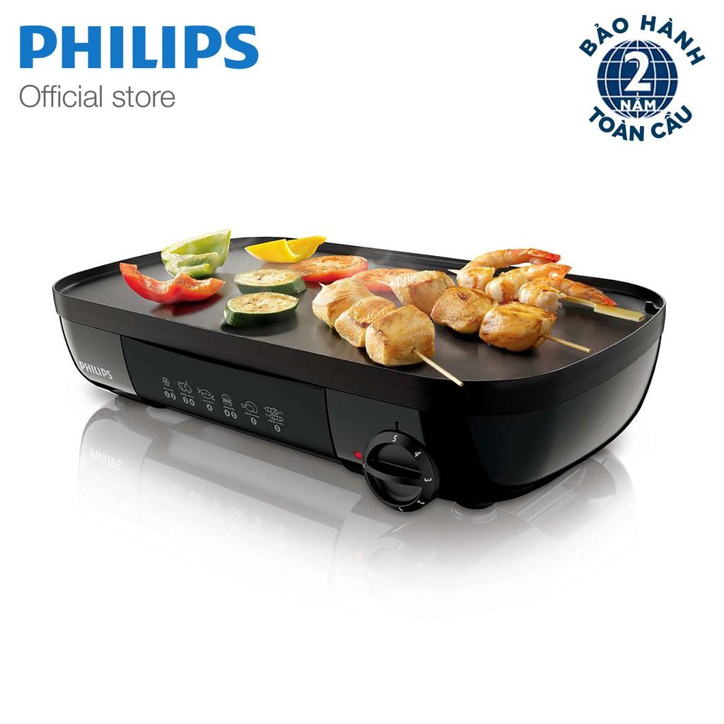 Vỉ nướng điện Philips HD6320 (đen)