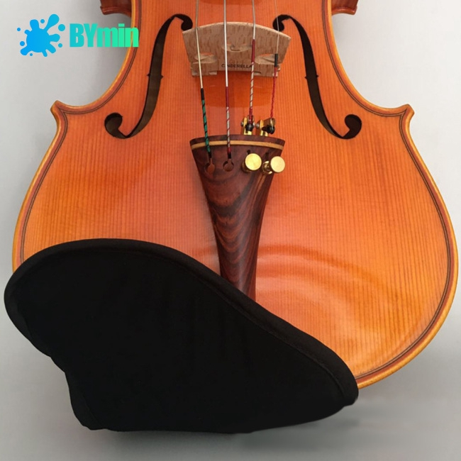 Violin Chin Rest Pad Cover Protector for 1/4 1/8 1/2 3/4 4/4 Violin Fiddle Accessories -BY