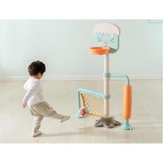 Bộ bóng đá, bóng rổ Freeship Bộ rổ bóng kèm bóng cao cấp thumbnail