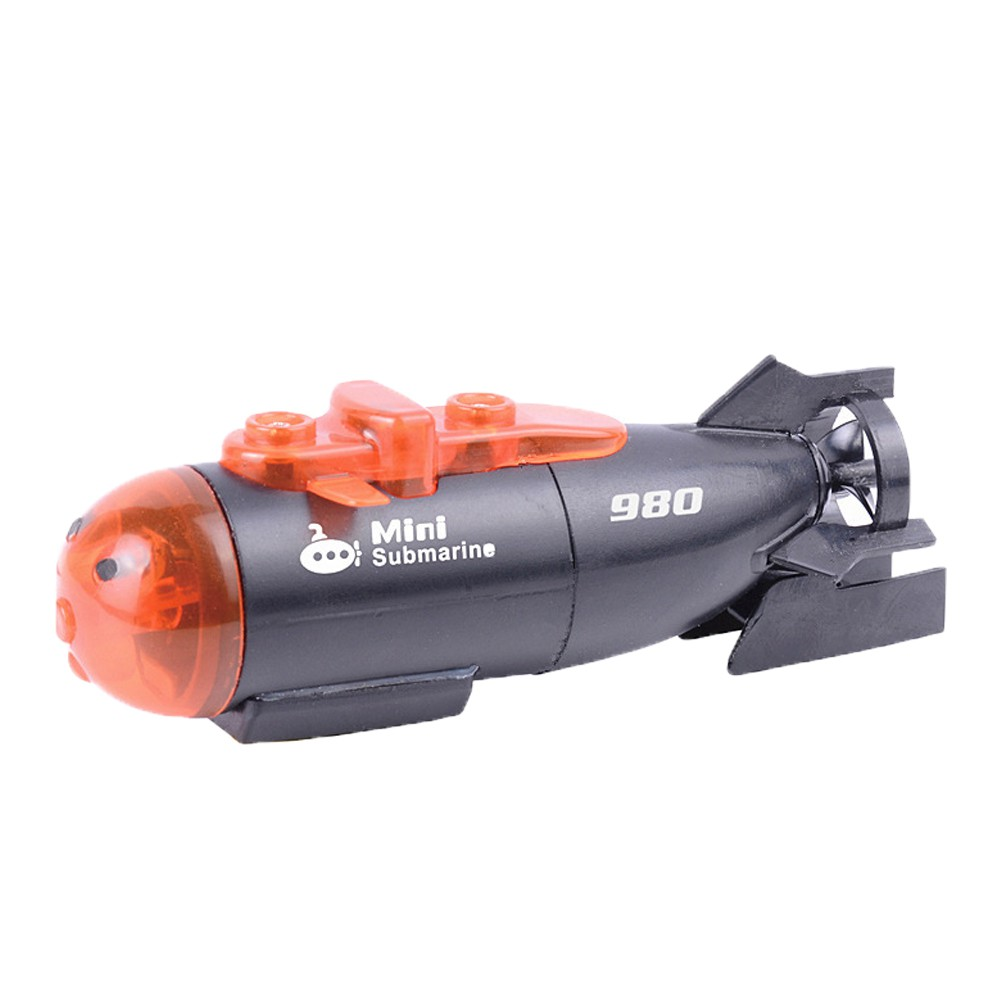 Remote Control Submarine Boat Water Diving Toy Fish Bowl Toys Fish Tank Decors