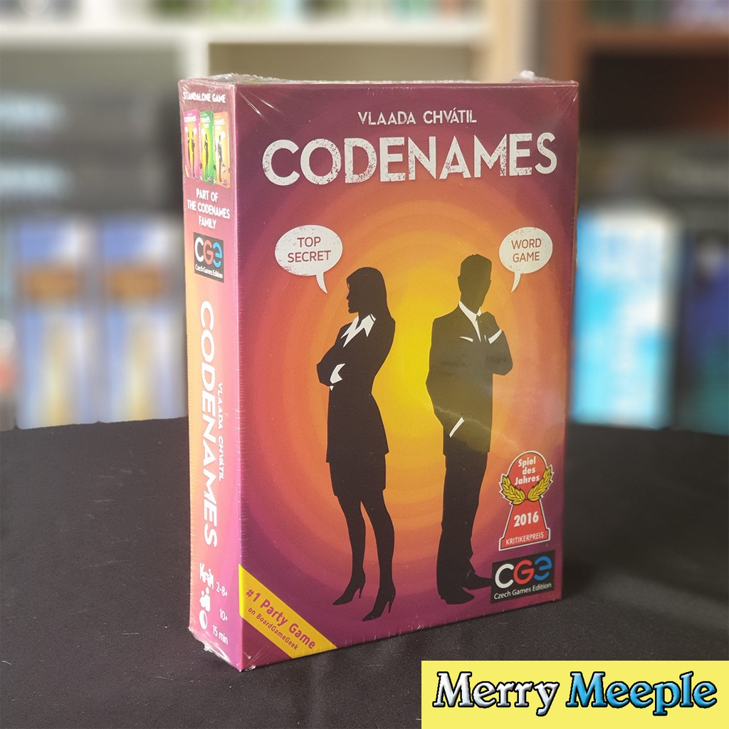 [US] Codenames – Trò chơi board game