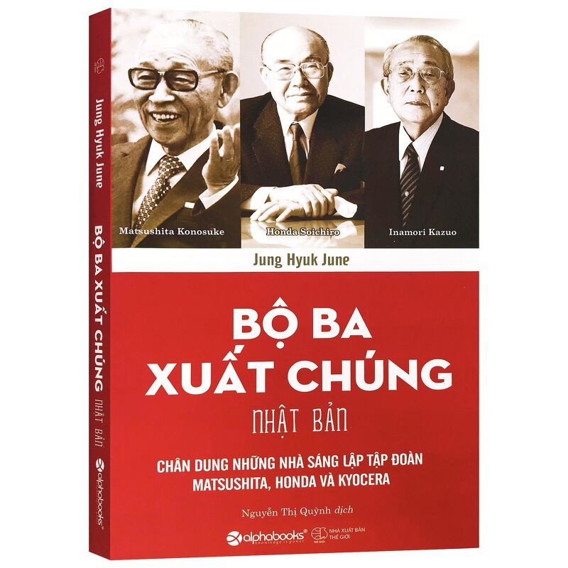 Sách - Bộ Ba Xuất Chúng Nhật Bản - Thanh Hà Books
