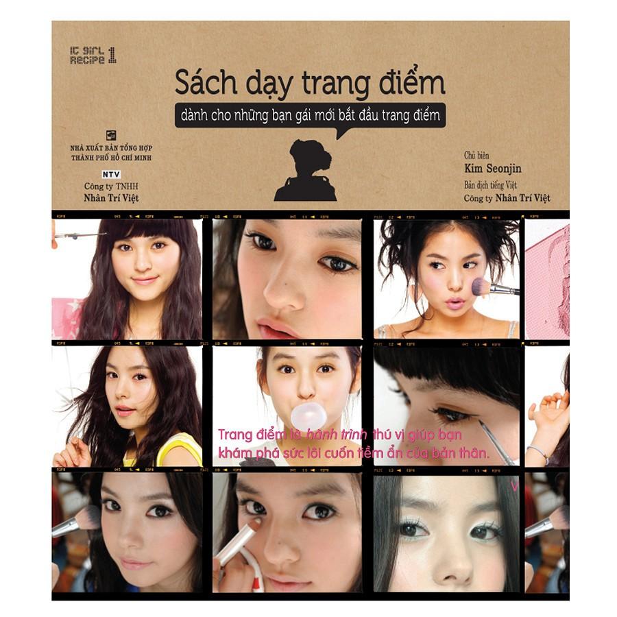 Sách - Dạy Trang Điểm - Dành Cho Những Bạn gái Mới Bắt Đầu Trang Điểm - 6902846830848