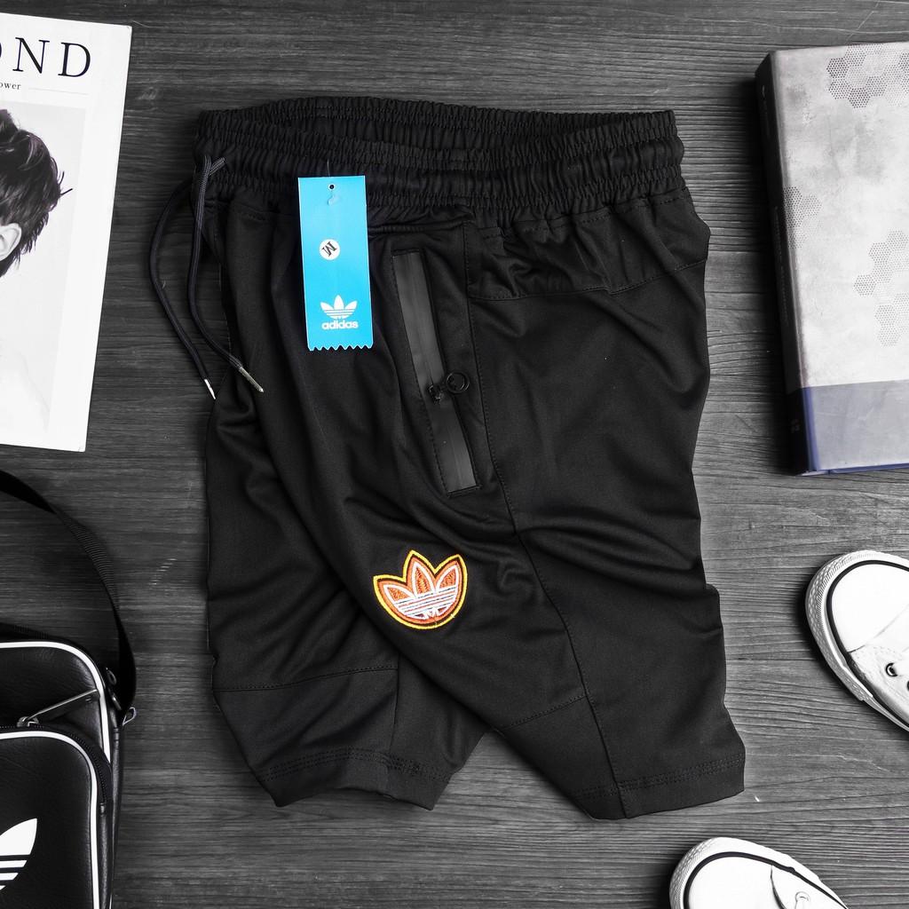Quần short thể thao nam, quần đùi nam tập gym chất thun co dãn 4 chiều thoải mái thoáng mát - QS33