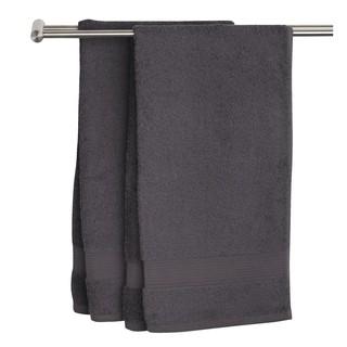 Khăn tắm JYSK Karlstad 100% cotton màu xám đậm nhiều kích thước thumbnail