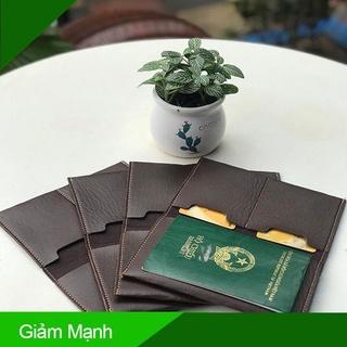 [ Hàng Hot ] Ví Đựng Passport , Đựng Hộ Chiếu Da PU Cao Cấp Onimax thumbnail
