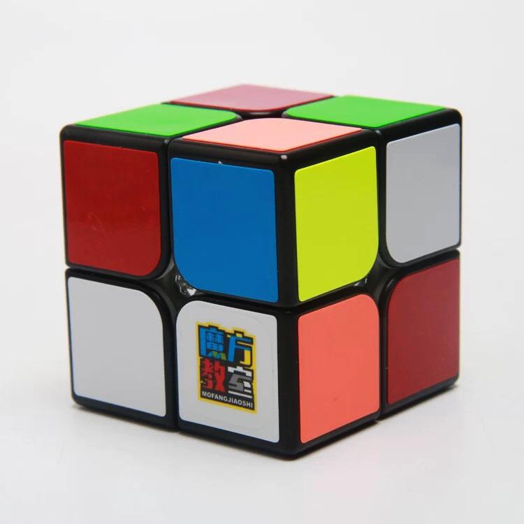 [Rubik 2x2x2] Rubik giá rẻ QiYi QiDi W 2x2 Viền đen, Không viền