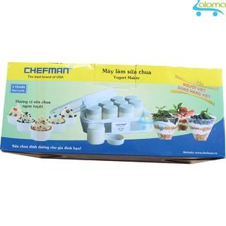 Máy làm sữa chua Việt Nam 12 cốc thủy tinh Chefman CM-311T thumbnail