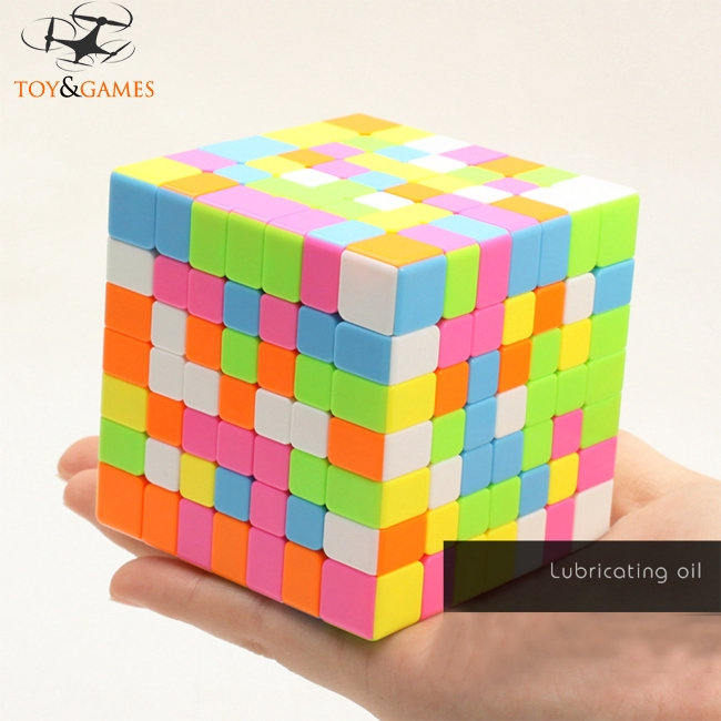 7 * 7 Creative Professional Speed Puzzle Cube Intellectual Development Smart Cube Fancy Toy for