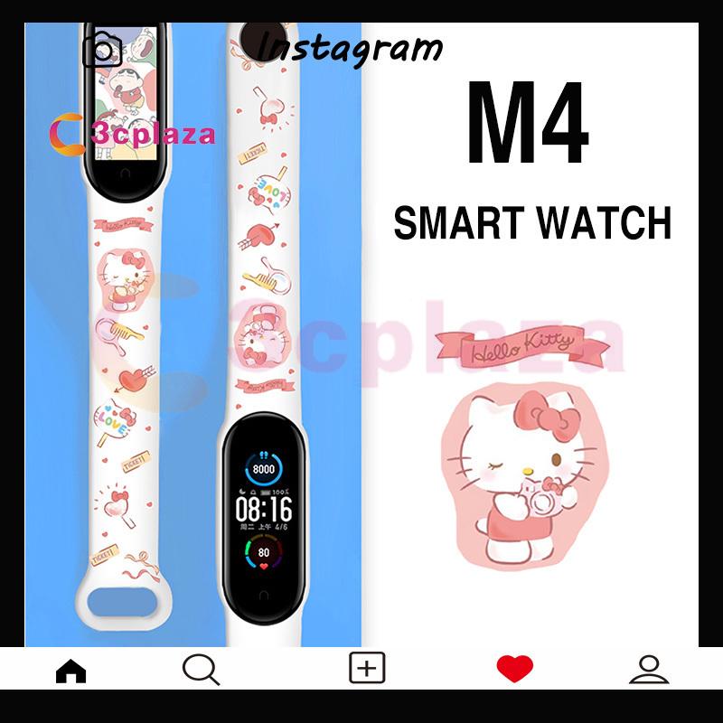 M4A2 M4 đồng hồ thông minh M4 Smart band M4 Đồng hồ Fitness Tracker đeo tay thể thao Nhịp tim Huyết áp Smartband Theo dõi sức khỏe Đồng hồ thông minh
