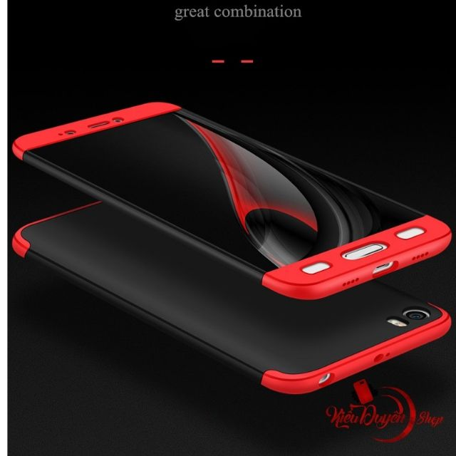 Ốp lưng Xiaomi Mi5 bảo vệ 360 độ chính hãng GKK