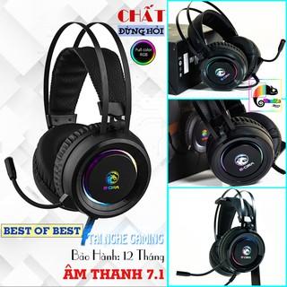 Tai nghe chuyên game Led RGB E-dra EH410 Pro có míc, âm thanh 7.1 I Bảo hành 12 tháng toàn quốc I Edra EH 410 Pro thumbnail