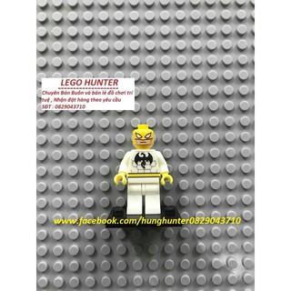 Minifigures mô hình nhân vật ironfist trắng