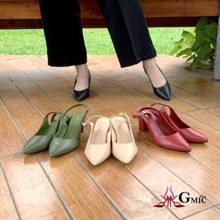 [Xưởng Giày GMIC] Giày Cao Gót Mũi Nhọn Da Rắn Đẹp, Giày Cao Gót Nữ 5P Chất Lượng Cao Cấp, Êm Chân VUM00205 thumbnail