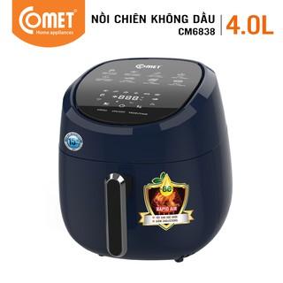 Nồi chiên không dầu phím cảm ứng điện tử 4L COMET – CM6838