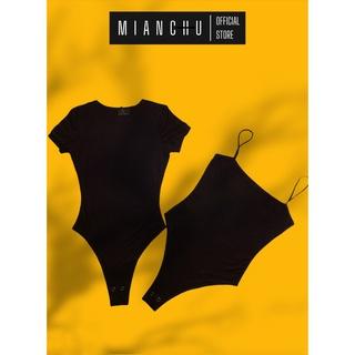 Combo 2 áo thun nữ bodysuit MIANCHU chất thun Visco dẻo mềm mịn co giãn ôm sát mã CBTR&D thumbnail