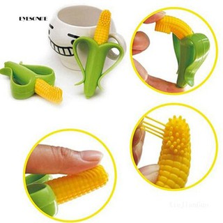 ♕1Pc Baby Teethers Bendable Bite Silicone Non-Toxic Corn Teething Toothbrush
