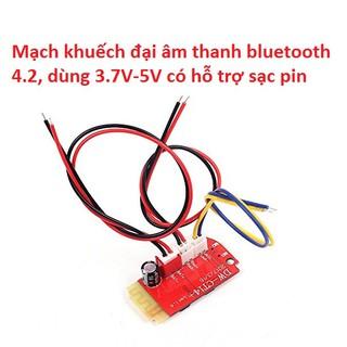 Mạch bluetooth 4.2 tích hợp mạch khuếch đại 2x5W DW-CT14 +