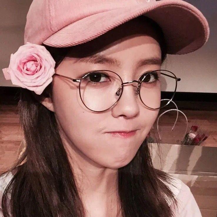 เกาหลีฮาราจูกุกระจกแบนย้อนยุควรรณกรรมโลหะแว่นตากรอบแว่นสายตาสั้นชายและหญิงรุ่นน้