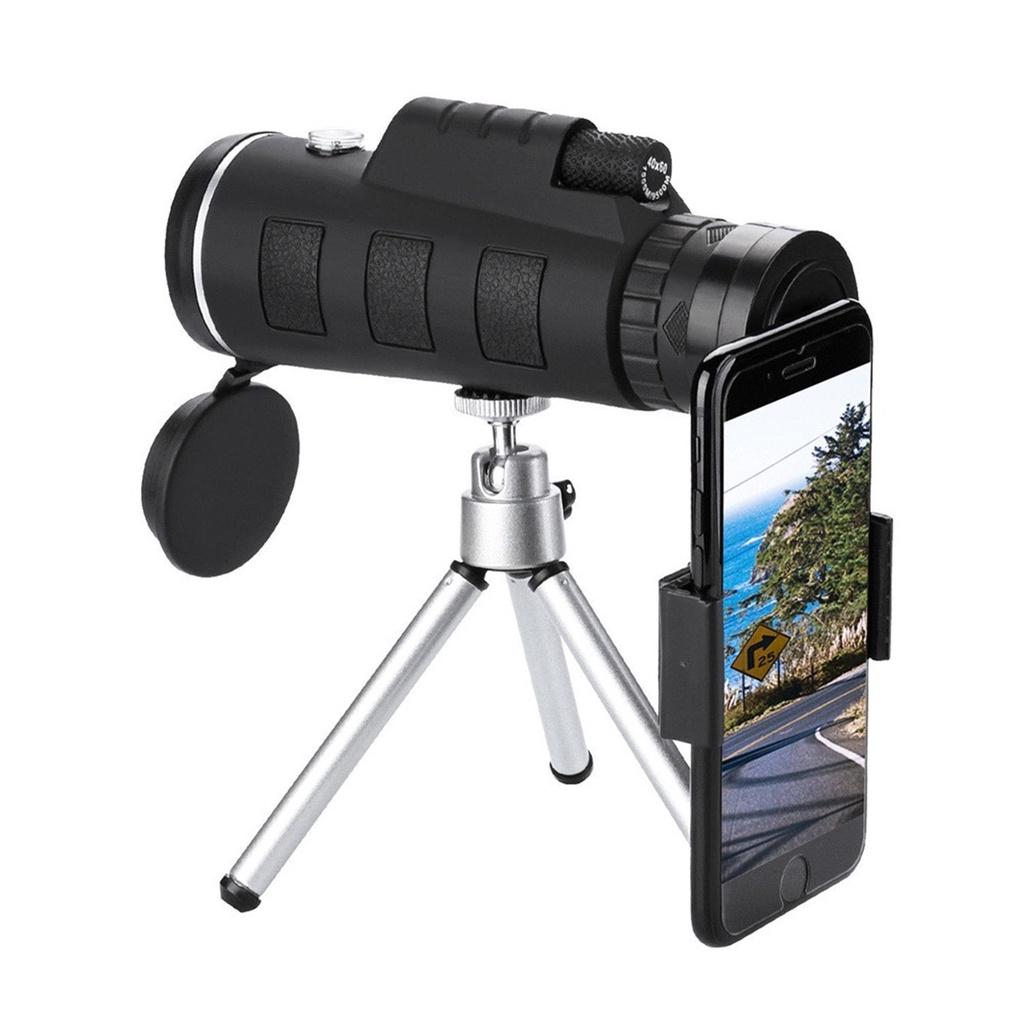 APEXEL HD Monocular Telescope 40X60 Zoom Monocular Binoculars Mini Portable Military Zoom 40X Scope For Travel Hunting With Trip【hy】