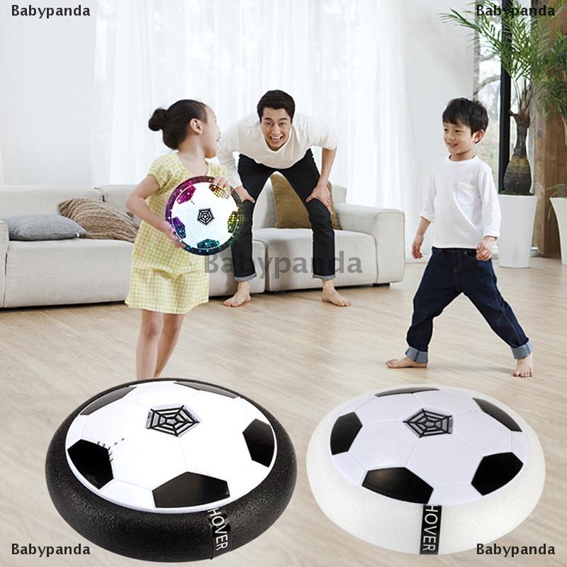 Babypanda  Led Light Flashing Ball Toys Air Power Soccer Multi-Surface Hovering Football
