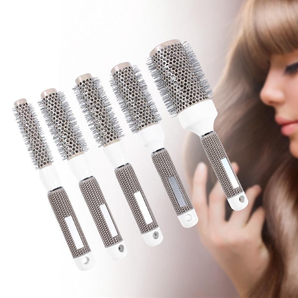 [Hàng mới về] Lược chải uốn tóc chất liệu sứ chịu nhiệt độ cao tiện dụng
