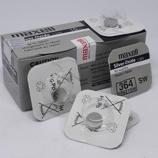 [Chính Hãng] Pin đồng hồ đeo tay SR621SW-377 1.55v maxell pin ô xít bạc nhật bản vỉ 1vien 11500đ