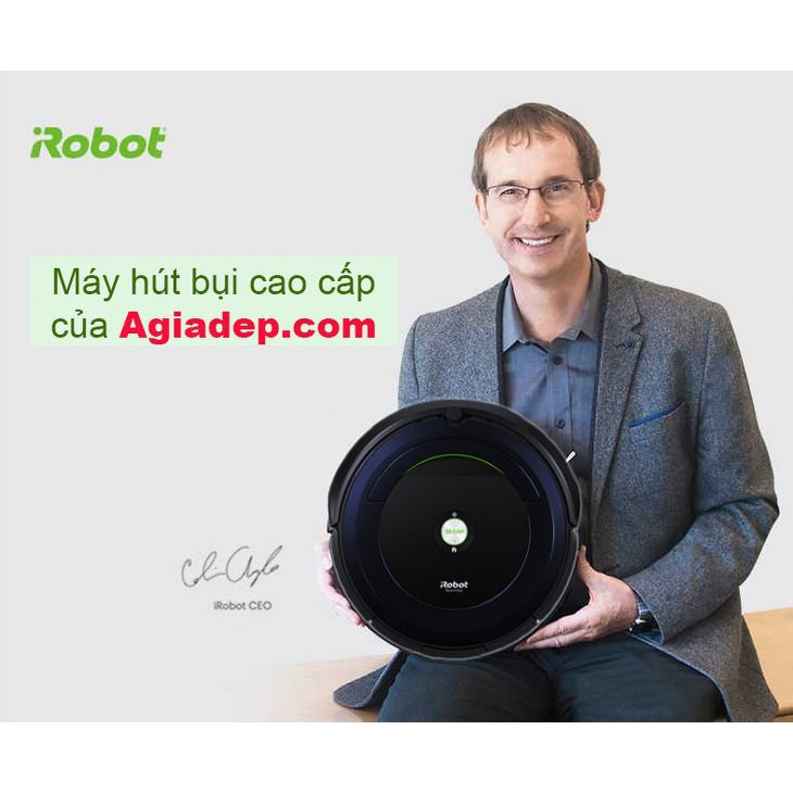 Robot chỉ hút bụi (Của Mỹ) - iRobot - 3023407 , 1068798712 , 322_1068798712 , 12500000 , Robot-chi-hut-bui-Cua-My-iRobot-322_1068798712 , shopee.vn , Robot chỉ hút bụi (Của Mỹ) - iRobot